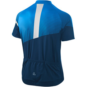 Löffler Stream Mid Full-Zip Bike Jersey Men, azul